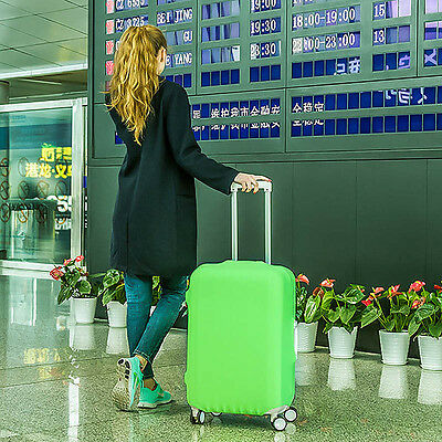 """Durable Elastic Luggage Cover Suitcase Protector Case 18"""" 20"""" 22"""" 24"""" 26"""" 30"""""""