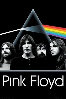 PINK FLOYD ~ GROUP DARK SIDE MOON ~ 24x36 MUSIC POSTER Roger Waters NEW/ROLLED!