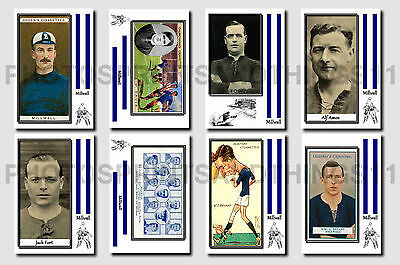 MILLWALL -  CIGARETTE CARD HISTORY 1900-1939 - Collectable postcard set # 1