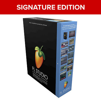 FL Studio 20 Signature Image Line Digital Audio Software (Download) *New*