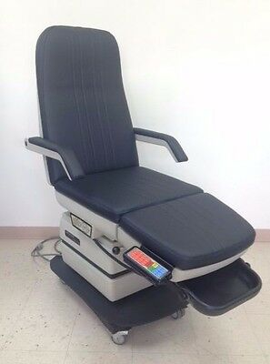 MIDMARK 416 Power Podiatry Treatment Chair Exam Table with Hand Control/New Top