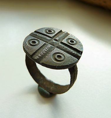 Ancient medieval ring (843)  .