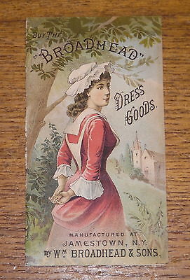 Antique Advertisting Trade Card Booklet - J. Miehle Millinery - Pottsville PA