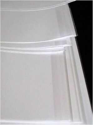 """5 Pack 9 """"x 21"""" Brodart Fold-On Archival Book Jacket Covers 9 x21 Super Clear"""