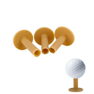 60/70/80mm Rubber Driving Range Golf Tees Holder Tee Home Training Practice Mat