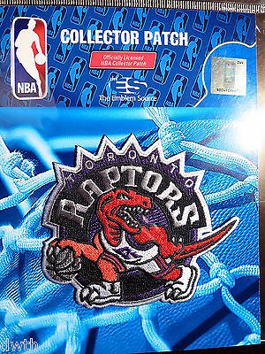 Official Licensed NBA Toronto Raptors Hardwood Classic Iron or Sew On Patch