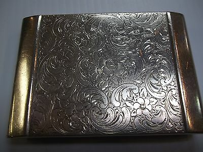 Stunning Art Deco  Sterling Silver  Cigarette Early Early Piece Rare Beauty !!!