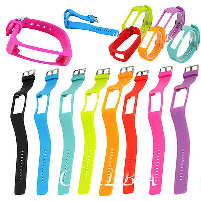 Soft Gel Silicone Watch Band Wrist Strap +Buckle For Polar A360 Fitness Tracker