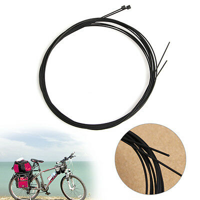 2pcs Bike Bicycle Front Brake Shift Cable Rear Derailleur Wire Teflon Coated MTB