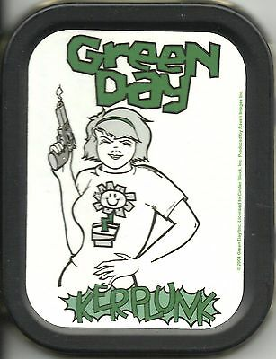 GREEN DAY kerplunk 2004 oblong STASH TIN usa IMPORT official - no longer made