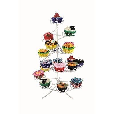 PME White Coated Wire Cupcake Stand (Holds 19)