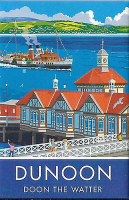 Paddle Steamer PS Waverley Firth of Clyde & Dunoon Pier Notebook - New