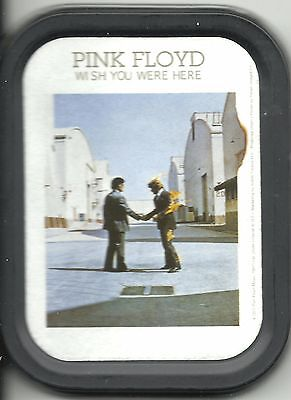 PINK FLOYD wish you 2003 oblong MINI STASH TIN no longer made IMPORT official