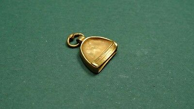 Ancient Gold Pendant Bell Shaped Greco-Roman 200 Bc - 100 Ad