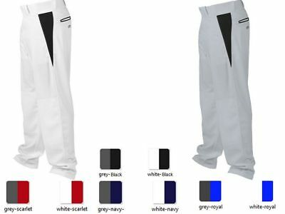 Rawlings BPVP Adult V-Notch Piped Relaxed Fit Baseball Softball Pants 4 Colors