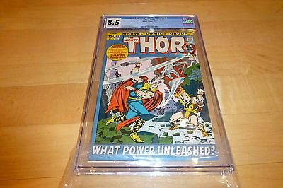 Thor 193 CGC 8.5 (1971, Marvel Comics) OW to White Pages Silver Surfer app