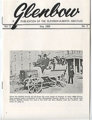 Old May 1969 Booklet Glenbow Alberta Institute