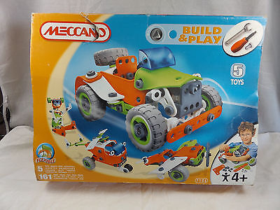 Meccano 7106 Build & Play ~ Flexible ~ 5 Toys