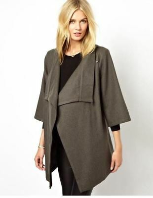 New Isabella Oliver Maternity Belted Wrap Jacket Coat XS S Small US=4/6 UK=8/10