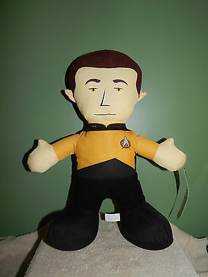 "Star Trek Captain James T Kirk 14"" Plush Stuffed Toy Factory 2013"