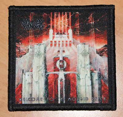 "VADER ""WELCOME TO THE MORBID REICH"" silk screen PATCH"