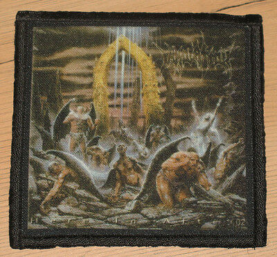 """IMMOLATION """"HERE IN AFTER"""" silk screen PATCH"""