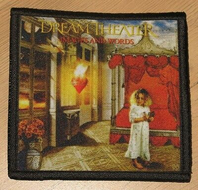 """DREAM THEATER """"IMAGES AND WORDS"""" silk screen PATCH"""