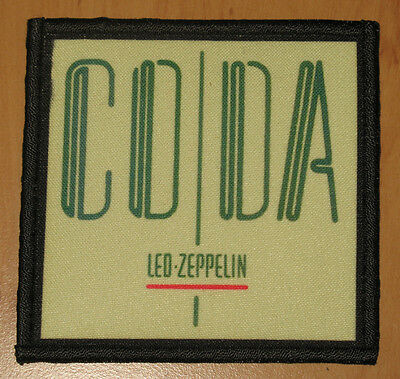 "LED ZEPPELIN ""CODA"" silk screen PATCH"