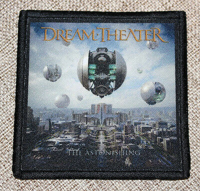 "DREAM THEATER ""THE ASTONISHING"" silk screen PATCH"