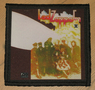 "LED ZEPPELIN ""II"" silk screen PATCH"