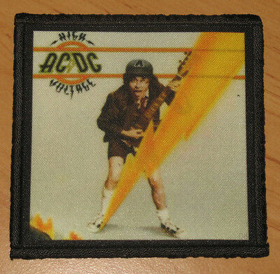 "AC/DC ""HIGH VOLTAGE"" silk screen PATCH"