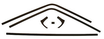 68 69 70 Dodge Charger 6pc Inside Rear Window Trim-NEW