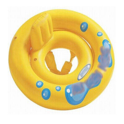 Baby Float Seat Boat Inflatable Ring Swim Pool Water Fun For 1-2 Years Old