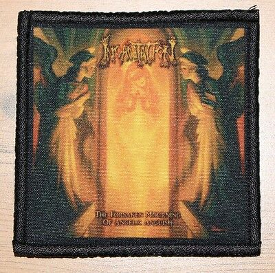 "INCANTATION ""THE FORSAKEN MOURNING OF ANGELIC ANGUISH"" silk screen PATCH"