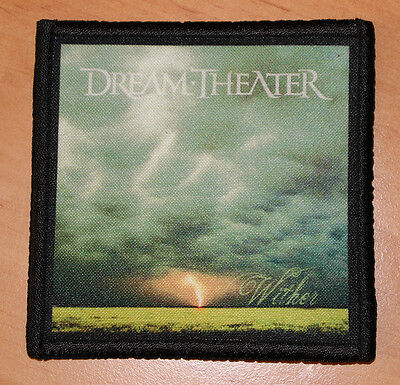 "DREAM THEATER ""WITHER"" silk screen PATCH"