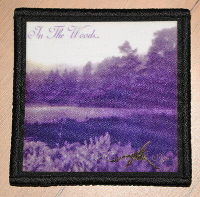 """IN THE WOODS """"HEART OF AGES"""" silk screen PATCH"""