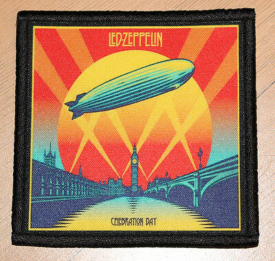 "LED ZEPPELIN ""CELEBRATION DAY"" silk screen PATCH"