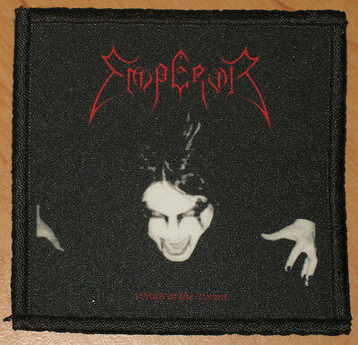 """EMPEROR """"WRATH OF THE TYRANT"""" silk screen PATCH"""