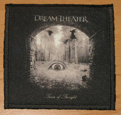 "DREAM THEATER ""TRAIN OF THOUGHT"" silk screen PATCH"