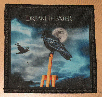 "DREAM THEATER ""A NIGHTMARE TO REMEMBER"" silk screen PATCH"