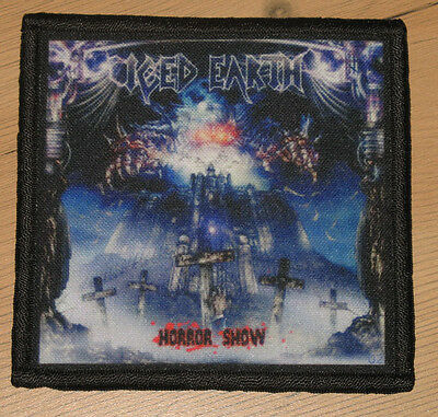 """ICED EARTH """"HORROR SHOW"""" silk screen PATCH"""
