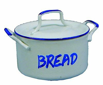 Dolls House 1/12 Scale Enamel Bread Pot