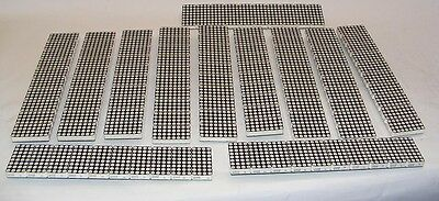 "Lot Of 120 (12X10) Lite-On Ltp-23548Aa-Nb Led Matrix 4X8 2.3"" Green/orange"