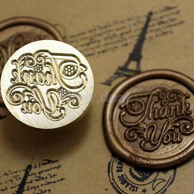 """Thank you"" Siegel Siegelstempel Petschaft Wax Seal Stamp Grüße Briefmarken"