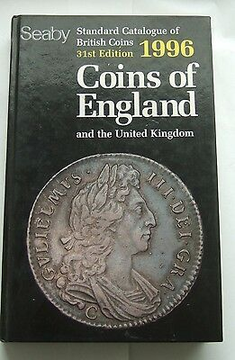 seaby Standard Catalogue of British Coins 1996 Hardback Book : Spink Forerunner