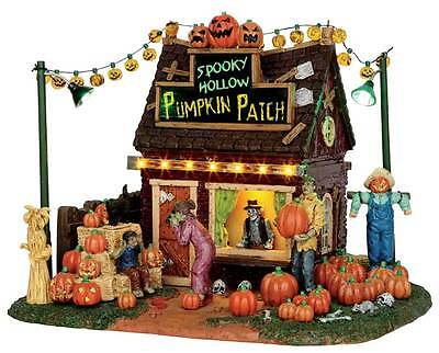 Lemax Spooky Town, 54902, Spooky Hollow Pumpkin Patch, Halloween