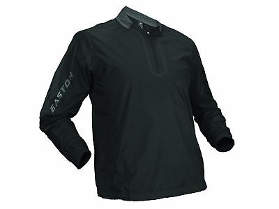 Easton Black Youth XL Magnet Batting Jacket Long Sleeve Pullover