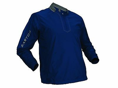 Easton Navy Blue Youth Large Magnet Batting Jacket Long Sleeve Pullover