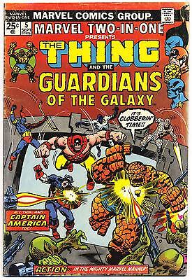 MARVEL TWO-IN-ONE #5 G, 2nd app. GUARDIANS OF THE GALAXY, Comics 1974
