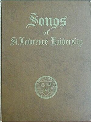 St. Lawrence University Songs, 1950 Book